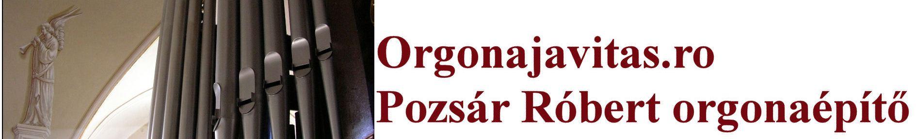 Pozsár Róbert orgonaépítő